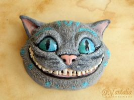 Cheshire cat head by Tantalia