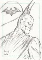 Batman Sketch Card by DavidLau82