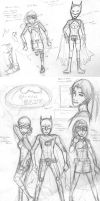 Batman: East Sketches by Labbess