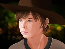 Carl Grimes by orjel