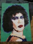 Dr. Frank-N-Furter Portrait with Hama Beads by kratosisy