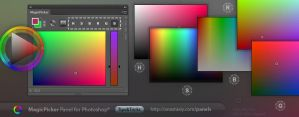 Tip#10: Color modes in MagicPicker color wheel by Anastasiy