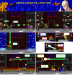 Justice League vs Z Fighters Page 3 by 8-BitBlanka