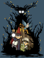Over the Garden Wall by caycowa
