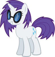 Vinyl Scratch recolor - DJ Rar3 by namelesshero2222