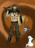 Barbarian Man by shade-of-wolf