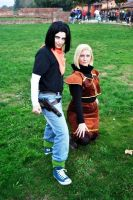 Lucca2012 - Androids 17 and 18 by Goldman-Karee