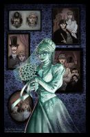 The Haunted Mansion: The Bride by briannacherrygarcia
