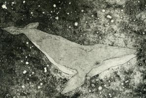 Space Whale by Damatris