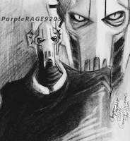 Grievous charcoal doodles by PurpleRAGE9205