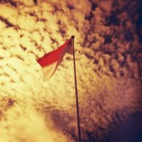 Redscale-Indonesia Raya by yoenizme