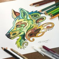 347- Earth Wolf by Lucky978