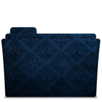 Folder-Icon Elegant Blue 2 by TylerGemini