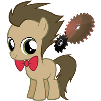 Doctor Whooves/Time Turner Control Panel Icon by Nerve-Gas