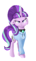 Lil Gideon Charles Gleeful (Starlight Glimmer) by ChibaDeer