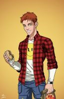 Wally West (Earth-27) commission by phil-cho