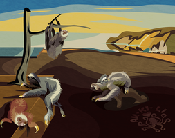 Persistence Of Sloths by amkili