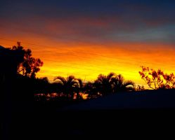 Sunset in Townsville by HaruJam