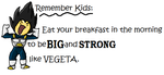 Be a Vegeta by NinaTheHedgchidna