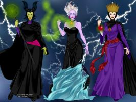 X Villainesses by M-Mannering