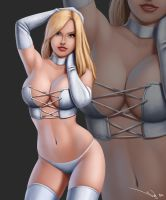 Emma Frost Remake by iurypadilha