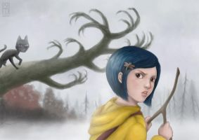 .: Coraline :. by zsami