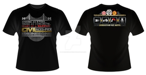 UE ACES PICE 2014-2015 T-Shirt (Officers) by MaverickGraphics