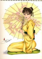 Geisha Tenten by ishxallxgood