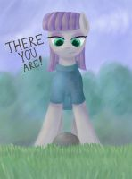 There you are! by St-El