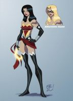 Ms. Wonder by EricGuzman