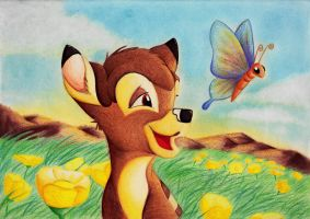 bambi's spring by andropov97