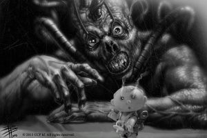the puppet master... by BPuig