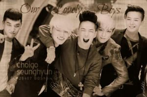 BB -Our Lovely Boys by KateW49