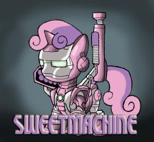 Cutie Mark Avengers: Sweetmachine by Kenichi-Shinigami