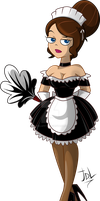 Commission: Maid Vanessa by JaviDLuffy