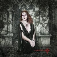 xXDemonessXx in the Cript by vampirekingdom