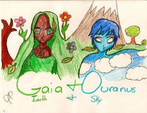 Gaia and Ouranus
