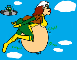 Rogue, the flying fatty by veender