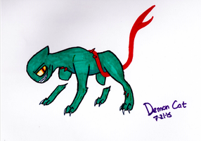 Demon Cat - Adventure Time by CleverDragoness01