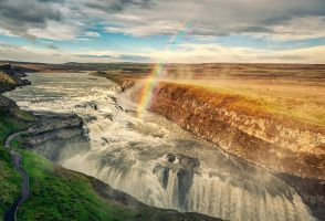 Gulfoss by PatiMakowska