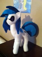 Plushie Vinyl Scratch! (Djpon-3) by I-TwistedFury-I