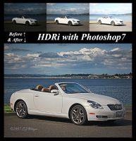 HDRi with Photoshop7  Tutorial by e-CJ