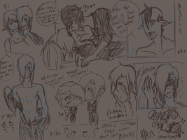 SKETCHDUMPING ALL IN DIS JOINT by lucy12143
