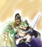 The Princess and Frog by JeNeSaisPasRabbit