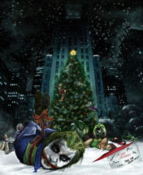 Gotham Christmas by DaakSM