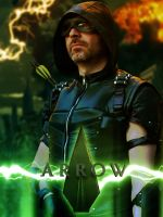 Arrow Cosplay Poster by Joran-Belar