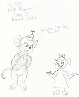 Rescuers WIP: Cuffed by MouseAvenger