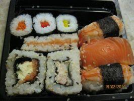 Sushi plate by LuciaDuvant