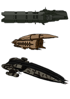 eve online ships by MrErro