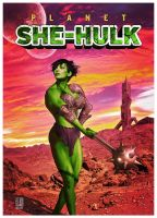 Planet She-Hulk by ROCINATE
